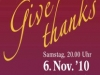 Give thanks - Plakat