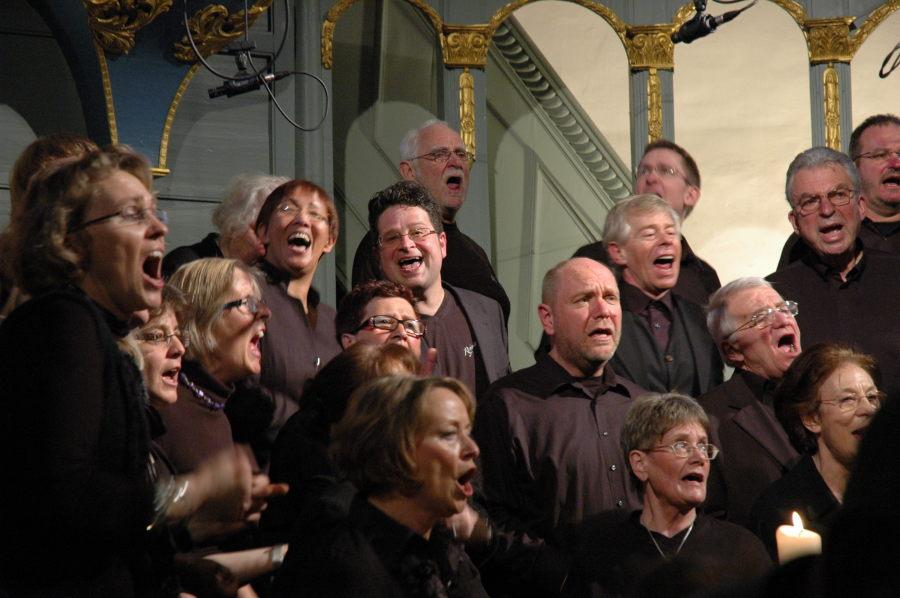 We pray - Gospelkonzert am 29.3.2009 (Foto: Walther Both)