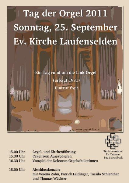 Tag der Orgel 2011
