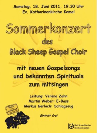 Sommerkonzert Black Sheep