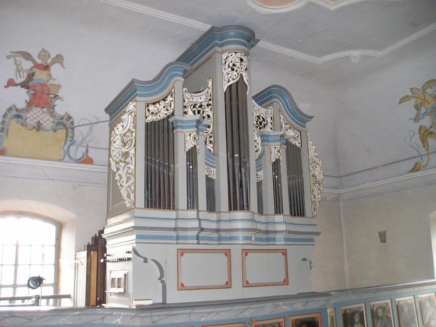 Die Schöler-Orgel in Niedermeilingen